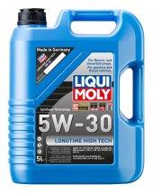 Liqui Moly 5w30 Sentetik Motor Yağı Long Time High Tech 5lt.9507