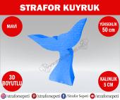 Strafor Sepeti Strafor Kuyruk 50 Cm Mavi Strafor Dekor, Strafor Parti, Strafor Doğum Günü