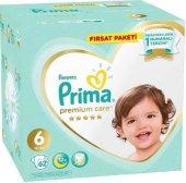 Prima Premium Care 6 Numara Bebek Bezi (13+) 62 Ad...