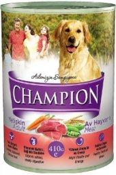 Champion Av Hayvanlı Köpek Konservesi 24 Adet X 415 Gr
