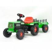 636 Traktör Basıc Yeşil 6v