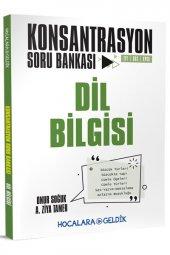 Hocalara Geldik Konsantrasyon Dil Bilgisi Soru Bankası