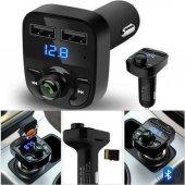 Carx8 Bluetooth Araç Kiti Fm Transmitter