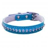Eastland Taşlı Kedi Boyun Tasması 1*30 Cm Mavi
