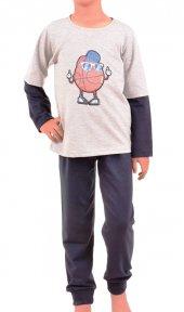 Erkek Çocuk Pijama Takımı Uzun Kol