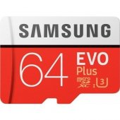 Samsung Evo Plus 64gb 100 Mb S Microsdxc Kart (Sd Adaptör) Mb Mc64ga Tr