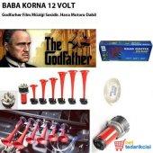 Oto Baba Korna Havalı 6 Borulu 12 Volt Godfather