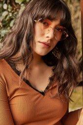Kadın Kahverengi Güneş Gözlüğü