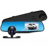 Kingboss 1080p 4.3 İnc Dikiz Ayna Ön Arka Araç Kamerası