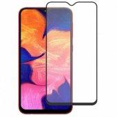Samsung Galaxy A50 Kavisli 5d Cam Ekran Koruyucu Siyah