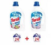 Tursil Jel Sıvı Çamaşır Deterjanı Renkli Ve Beyaz 24 Yıkama X2