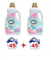 Abc Bebek Çamaşırları İçin Sıvı Çamaşır Deterjanı 45 Yıkama X2