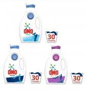 Yeni Omo Sıvı Deterjan Leke Çıkarıcı Kapak Actıv Color Baby X3