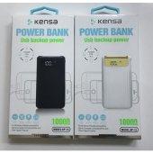 Powerbank 10000 Mah Dijital Ekran Kensa Kp 21