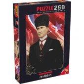 Anatolian Mustafa Kemal Atatürk 260 Parça Puzzle