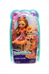 Mattel Enchantimals Bebekler Cherish Cheetah & Qui...