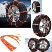 Rugad Araç Tekerlek Plastik Zincir Kelepçesi Karda Git Kar Max