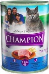 Champion Ton Balıklı Kedi Konservesi 24 Adet X 415 Gr