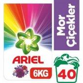 Ariel Çamaşır Yıkama Deterjanı Mor Çiçekler 6 Kg