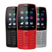 Nokıa 210 Siyah Gri 2 Yıl İthalatçı Garantili Tuşlu Cep Telefonu